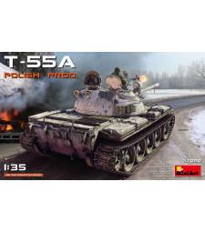 1:35 Среден танк Т-55А Полско производство (T-55A POLISH PRODUCTION)