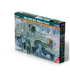 1:72 GMC CCKW-353 Military Truck