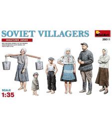 1:35 Съветски селяни - 6 фигури