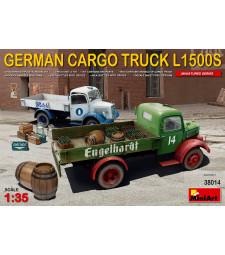 1:35 Германски товарен камион Мерцедес Л1500С (German Cargo Truck L1500S Type)