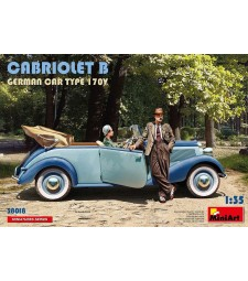 1:35 Германски кабриолет Б тип 170V (Cabriolet B German Car Type 170V)
