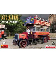 1:35 Лондонски омнибус LGOC Тип-Б (LGOC B-Type London Omnibus)