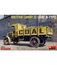 1:35 Британски товарен камион  LGOC, 3 тона, Тип-Б (British Lorry LGOC 3t B-Type)