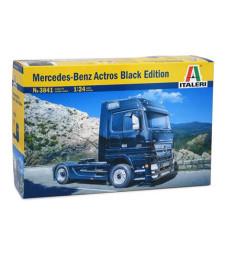 1:24 Камион влекач Мерцедес-Бенц Актрос черна серия (Mercedes-Benz ACTROS Black Edition)
