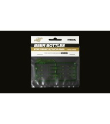 SPS-011 Бирени бутилки за диорама (BEER BOTTLES FOR VEHICLE/DIORAMA)