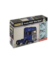 "1:24 Камион влекач SCANIA R620 ""BLUE SHARK"""