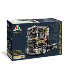 1:24 Камион влекач Скания Р730 Топлайн (SCANIA R730 TOPLINE)