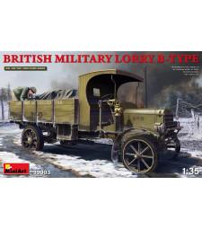 1:35 Британски военен камион Тип Б (British Military Lorry B-Type)