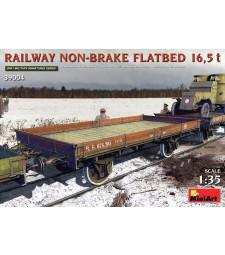 1:35 Железопътна платформа без спирачки 16,5 t (Railway Non-brake Flatbed 16,5 t)