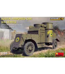 1:35 Austin Armored Car 3rd Series: Ukrainian, Polish,  Georgian, Romanian Service. Interior Kit