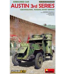 1:35 Austin Armoured Car 3rd Series: Czechoslovak,  Russian, Soviet Service. Interior Kit