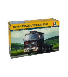 1:24 Камион влекач Берлие 352сх / Рено Р360 6х4 (BERLIET 352ch / RENAULT R360 6x4)