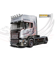 1:24 Камион влекач SCANIA R730 V8 STREAMLINE ''SILVER GRIFFIN''