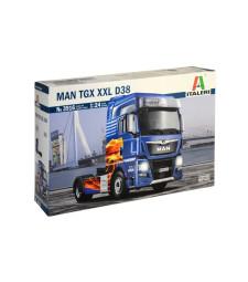 1:24 Камион влекач MAN TGX XXL D38