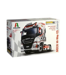"1:24 Камион влекач IVECO HI-WAY E.5 ""ABARTH"" ShowTrucks"