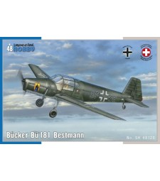 1:48 Двуместен едномоторен самолет Bücker Bü 181 Bestmann
