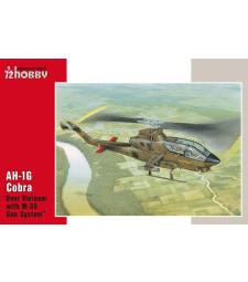 """1:72 Едномоторен хеликоптер AH-1G Cobra """"Over Vietnam with M-35 Gun Syste"""