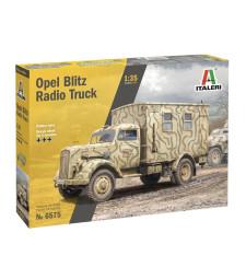 1:35 Германски военен камион за радио връзка Опел Блиц (OPEL BLITZ RADIO TRUCK)