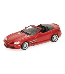 MERCEDES-BENZ SLR - MCLAREN ROADSTER - 2007 - RED L.E. 1008 pcs.