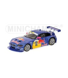 BMW Z4 M COUPE - RED BULL - WINNERS 24H SILVERSTONE 2006 L.E. 1728 pcs.