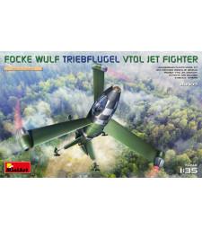 1:35 Прототип на изтребител с вертикално излитане и кацане Focke Wulf Triebflugel (VTOL) Jet Fighter