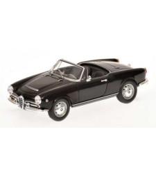 ALFA ROMEO GIULIA SPIDER - 1962 - BLACK L.E. 1008 pcs.