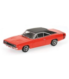 DODGE CHARGER - 1968 - BRIGHT RED L.E. 1104 pcs.