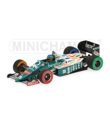 Benetton Ford B186 Gerhard Berger - US GP Detroit 1986