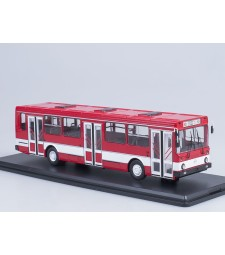 LIAZ-5256 city bus - red-white
