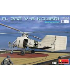 1:35 Германски хеликоптер Fl 282 V-6 Kolibri