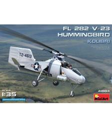 1:35 Лек разузнавателен хеликоптер-синхроптер Fl 282 V-23 Hummingbird (Колибри)