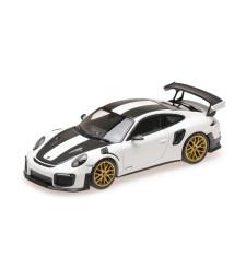 PORSCHE 911 (991.2) GT2RS – 2018 – WHITE (WEISSACHPAKET) L.E. 500 PCS.