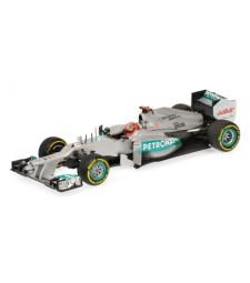 MERCEDES AMG PETRONAS F1 TEAM W03 - MICHAEL SCHUMACHER - 2012