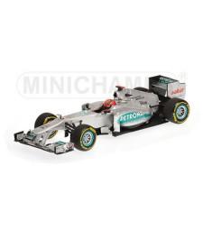 MERCEDES AMG F1 TEAM - SHOWCAR - MICHAEL SCHUMACHER - 2012