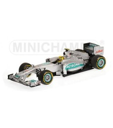 MERCEDES AMG F1 TEAM - SHOWCAR - NICO ROSBERG - 2012