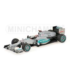 MERCEDES AMG PETRONAS F1 TEAM W03 - MICHAEL SCHUMACHER - 300TH GP - BELGIAN GP 2012