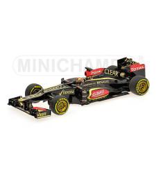 LOTUS F1 TEAM RENAULT E21 - KIMI RAIKKONEN - 2013