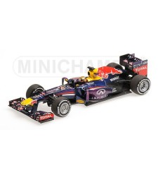 INFINITI RED BULL RACING RENAULT RB9 - SEBASTIAN VETTEL - WINNER GERMAN GP 2013 L.E. 1908 pcs.