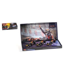 3 CAR SET - RED BULL RACING - SEBASTIAN VETTEL - 3 TIMES WORLD CHAMPION 2010-2011-2012 L.E. 555 pcs.