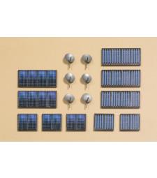 Сателитна система, соларни панели H0 (24 x 22 x 1,2 mm;46 x 22 x 1,2 mm)