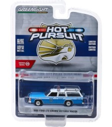 1988 Ford LTD Crown Victoria Wagon - New York City Police Dept (NYPD) Solid Pack - Hot Pursuit Series 30
