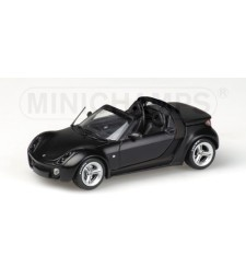 SMART ROADSTER – 2003 – MATT BLACK – 'FULDA' – EXCLUSIVE