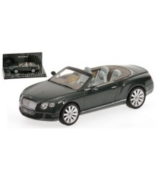 BENTLEY CONTINENTAL GTC - 2011 - GREEN L.E. 1824 pcs.