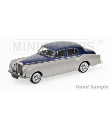 BENTLEY S2 - 1960 - SILVER & BLUE