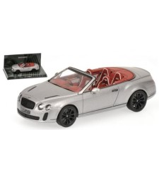 BENTLEY CONTINENTAL SUPERSPORTS CABR. - 2010 - GREY METALLIC L.E. 1152 pcs.