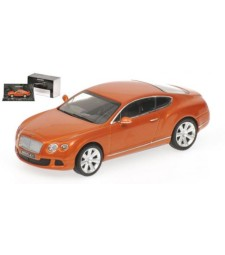 BENTLEY CONTINENTAL GT - 2011 - ORANGE METALLIC L.E. 1008 pcs.