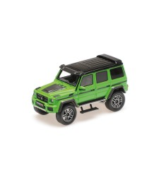 BRABUS 4×4² AUF BASIS MERCEDES-BENZ G 500 4×4² – 2016 – GREEN