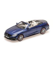 BRABUS 850 MERCEDES-AMG S 63 S-CLASS CABRIOLET – 2016 – DARK BLUE