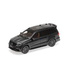 BRABUS 850 WIDESTAR XL BASEDON MERCEDES-AMG GLS 63 - 2017 - BLACK METALLIC