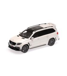 BRABUS 850 WIDESTAR XL BASEDON MERCEDES-AMG GLS 63 - 2017 - PEARL WHITE METALLIC